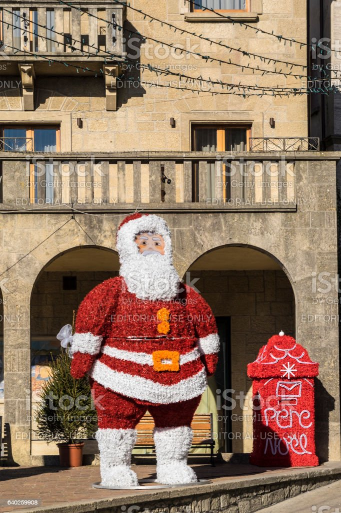 Christmas in San Marino stock photo