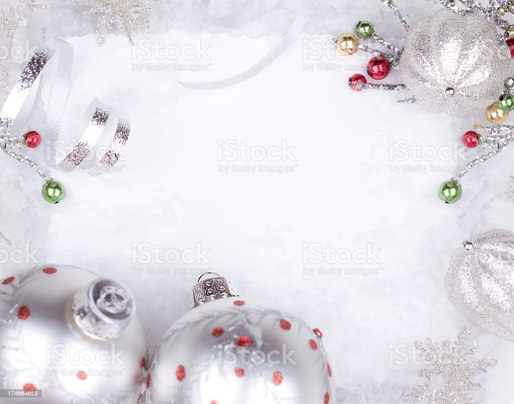 Christmas Invitation royalty-free stock photo