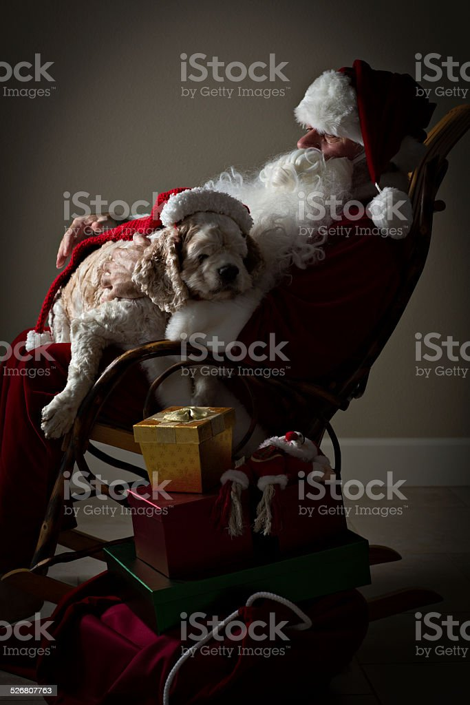 Christmas Is Exhausting stock photo