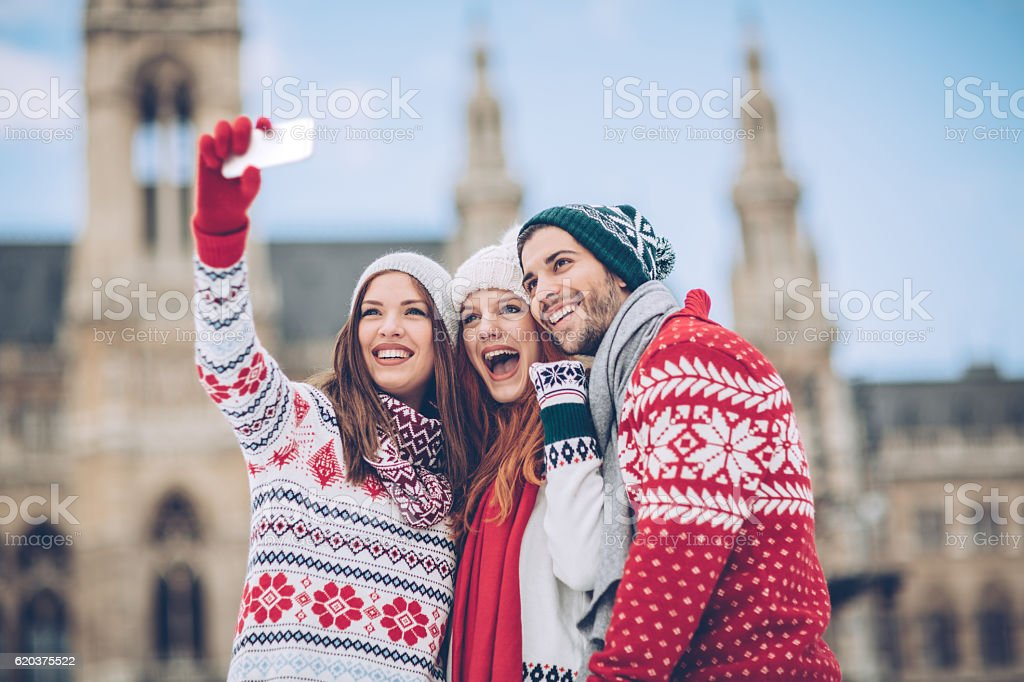 Christmas is nearly here stock photo