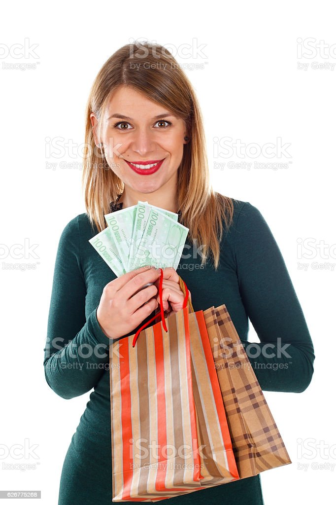 Christmas isn't about the money stock photo