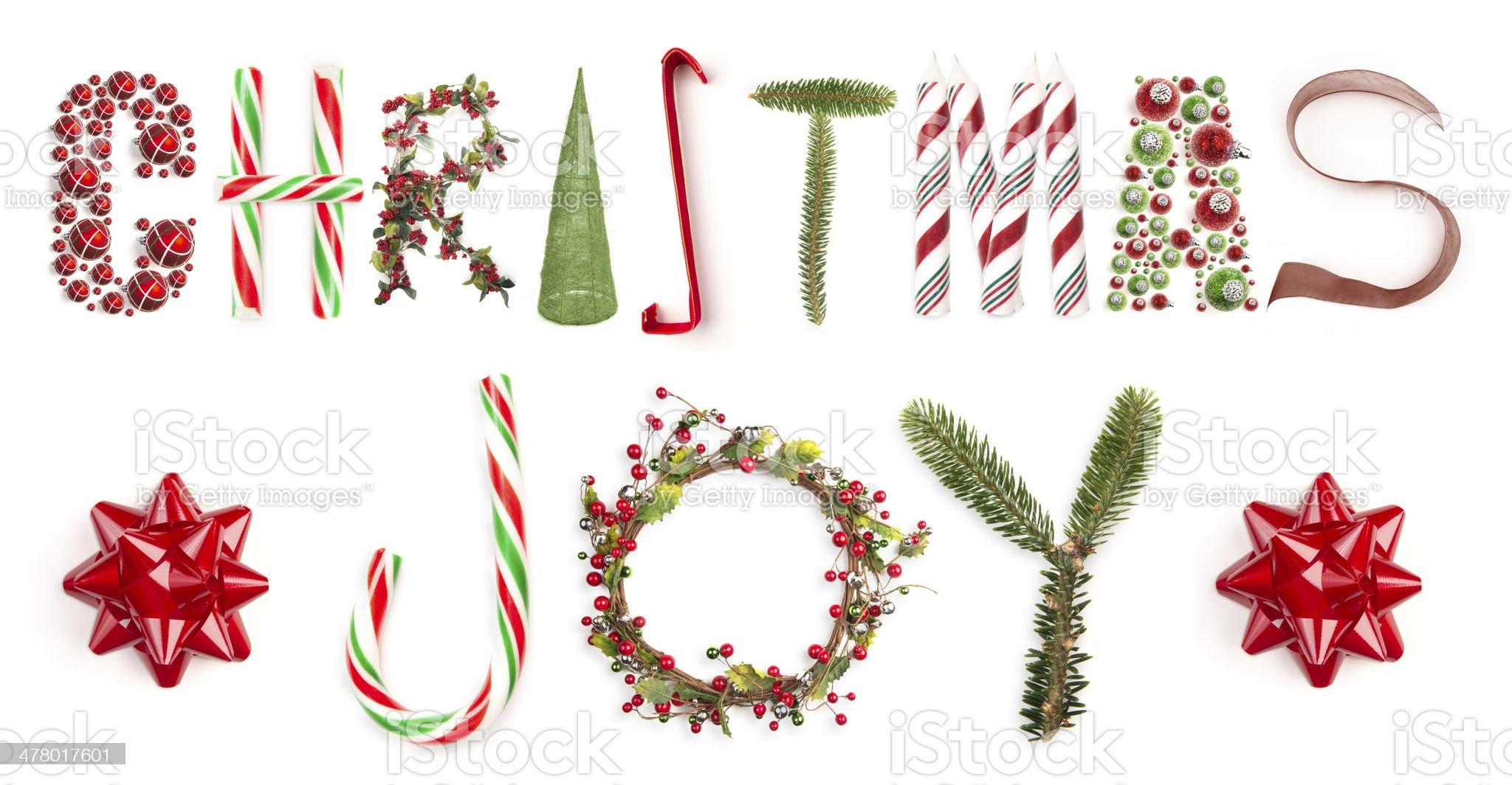 Christmas Joy royalty-free stock photo