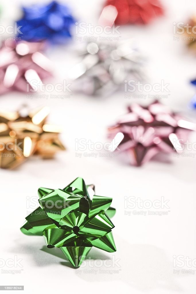 christmas knot stock photo
