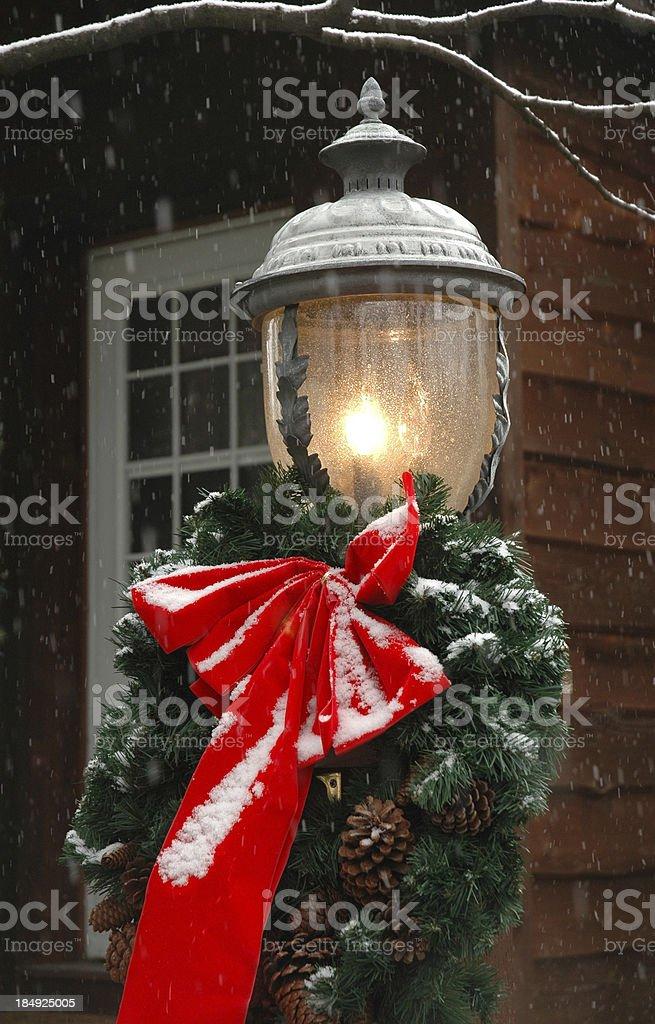 Рождественский лампа Стоковые фото Стоковая фотография
