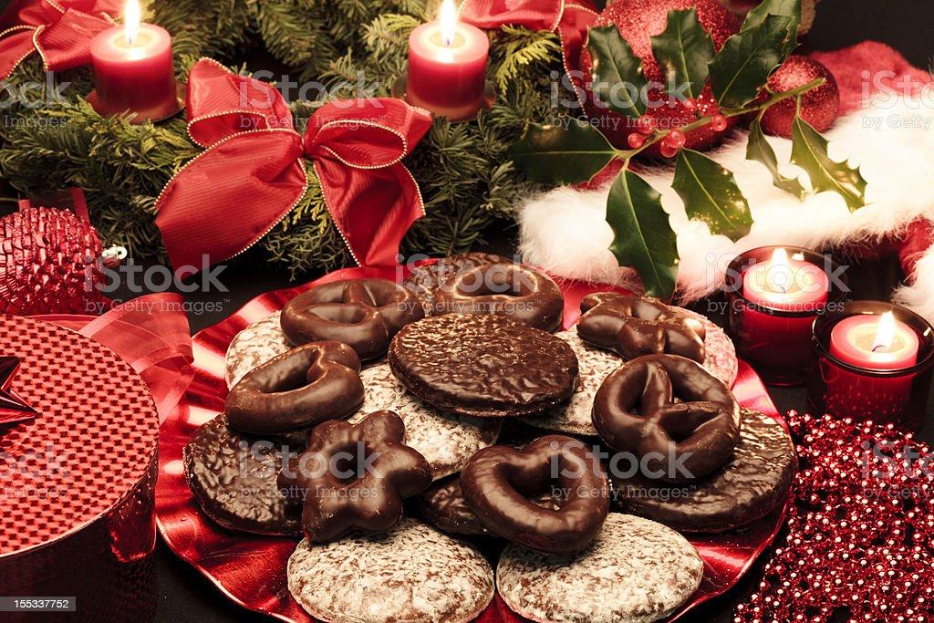 Christmas lebkuchen royalty-free stock photo