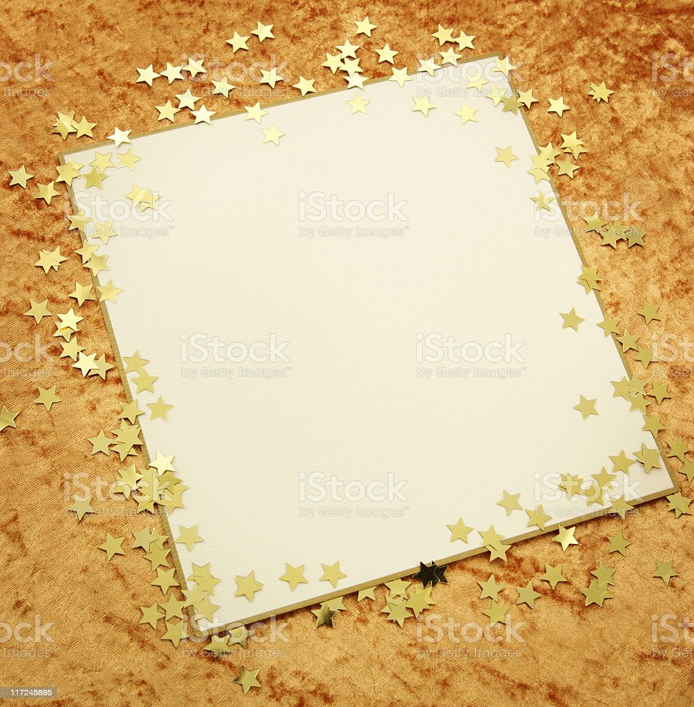 Christmas Letter Series royalty-free stock photo