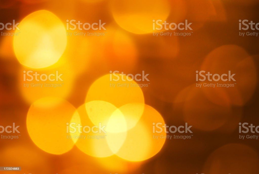 Christmas Light Abstract royalty-free stock photo