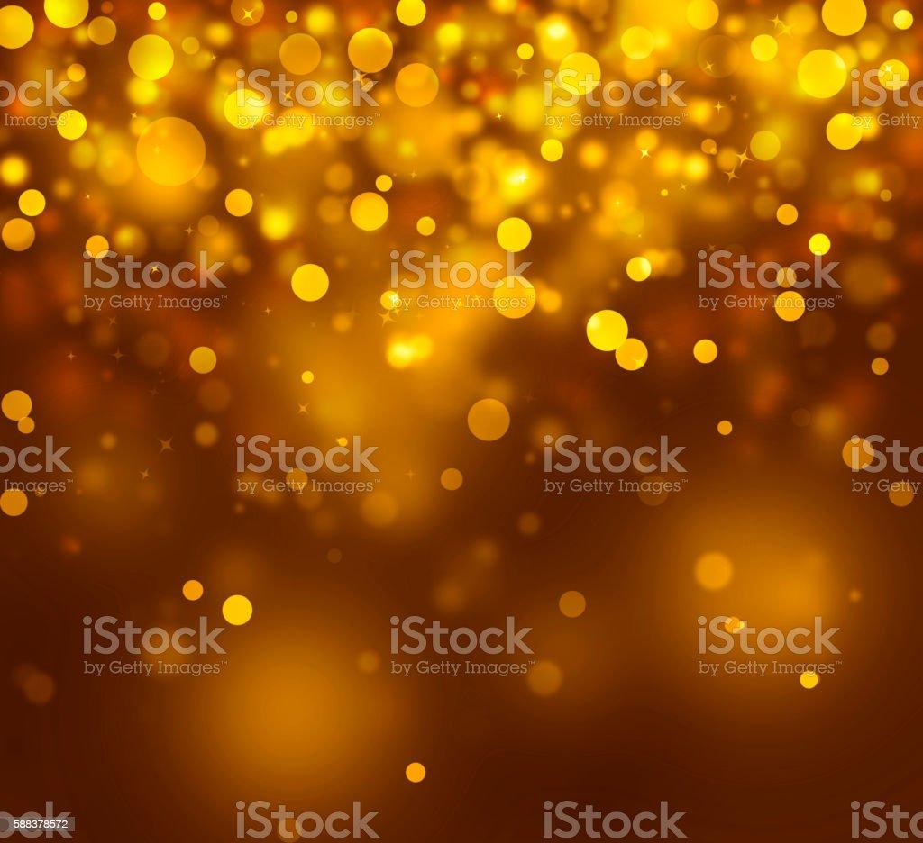 Christmas Light Abstract stock photo