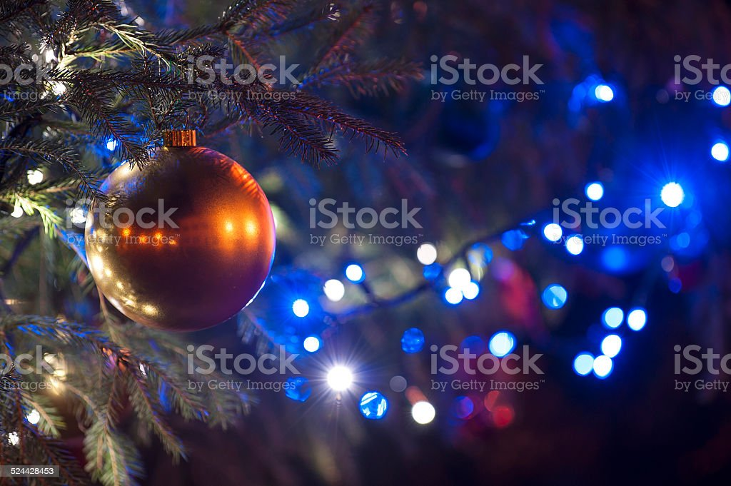 christmas light background stock photo