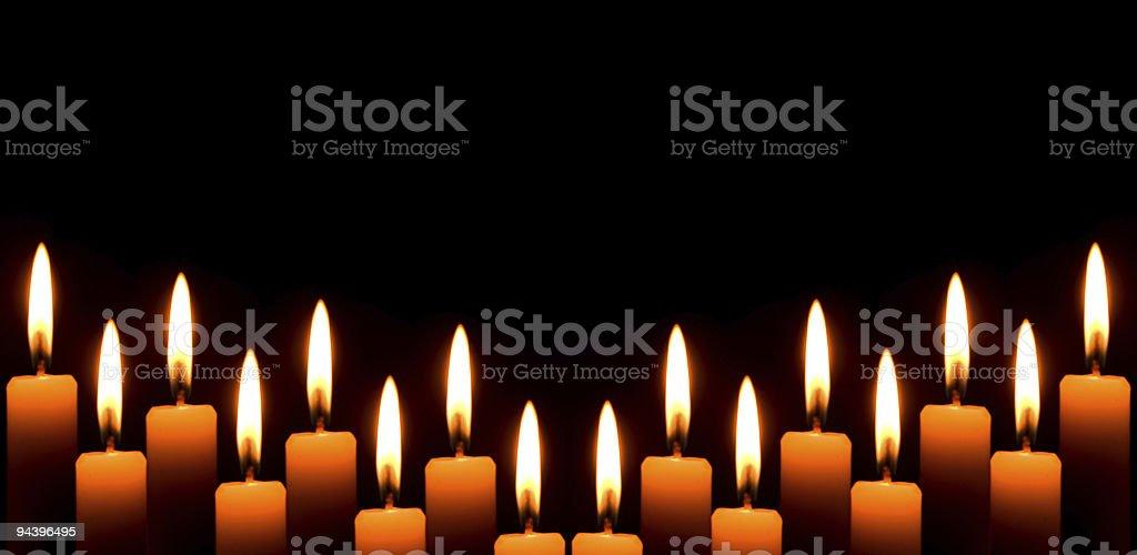 christmas light candle royalty-free stock photo