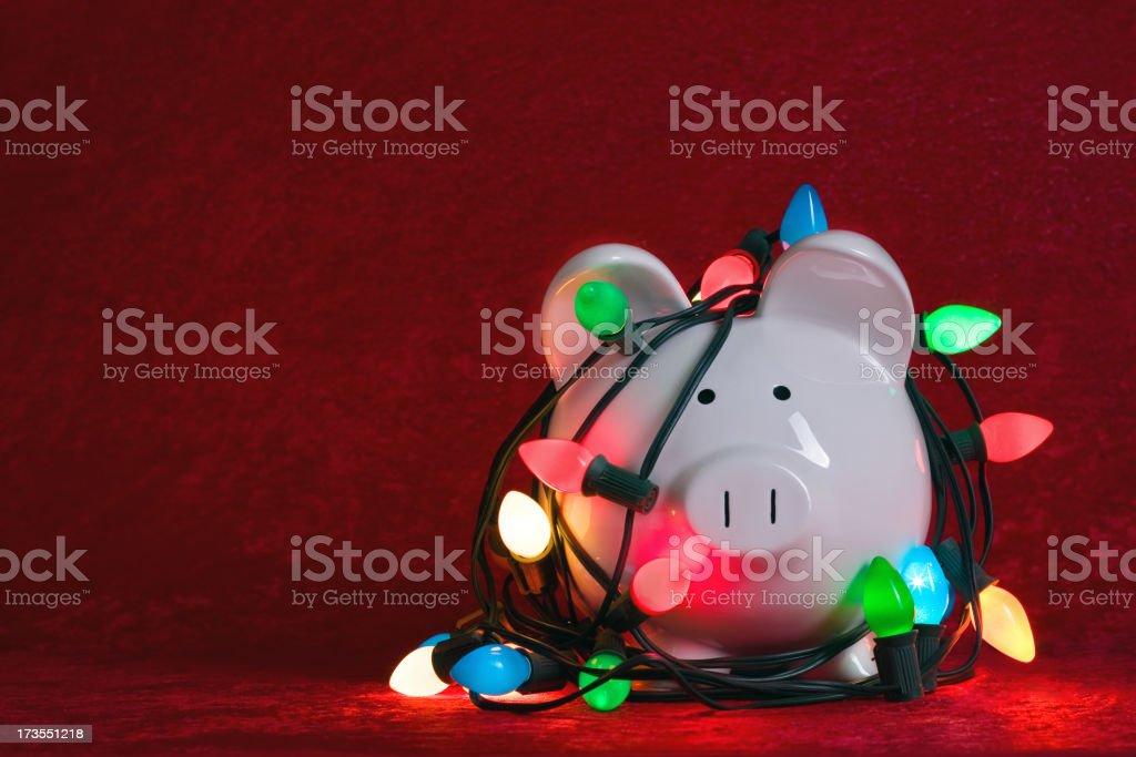 Christmas Light Tangle royalty-free stock photo