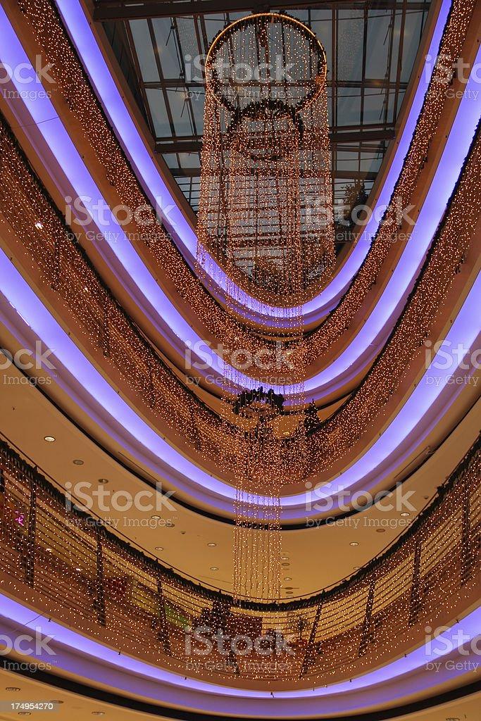 Christmas lighting royalty-free stock photo