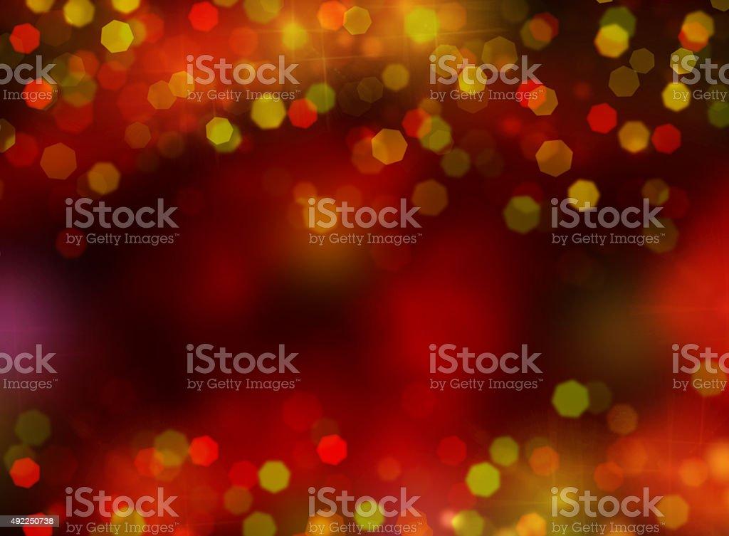 christmas lights banners and borders stock photo