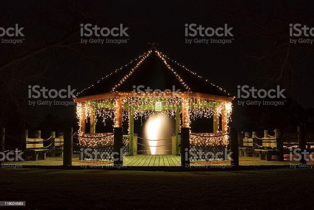 Christmas Lights Lizenzfreies stock-foto