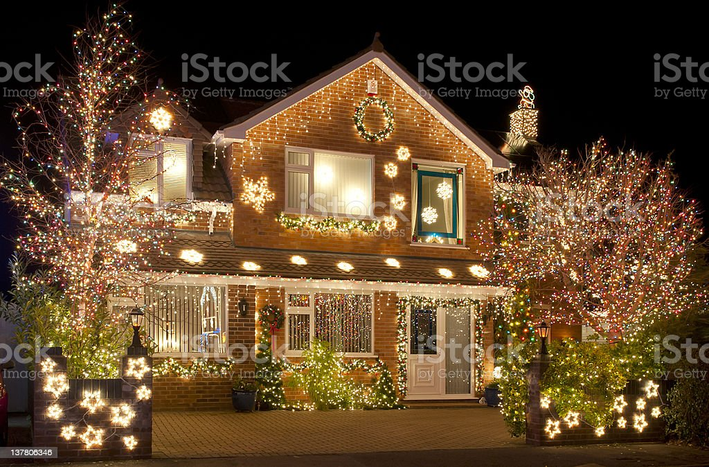 Christmas Lights stock photo