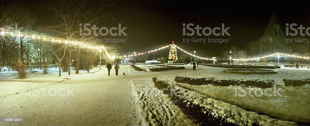 Christmas lights. royalty-free stock photo