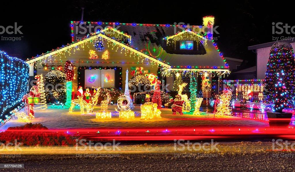 Christmas Lights stock photo