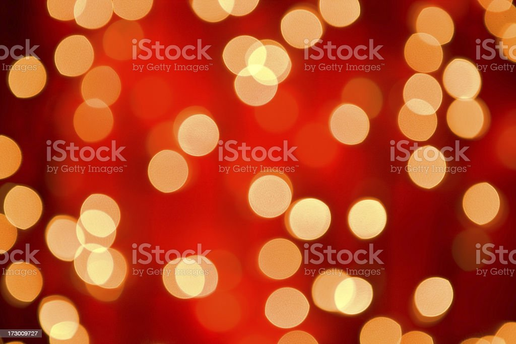 Christmas lights XXL royalty-free stock photo