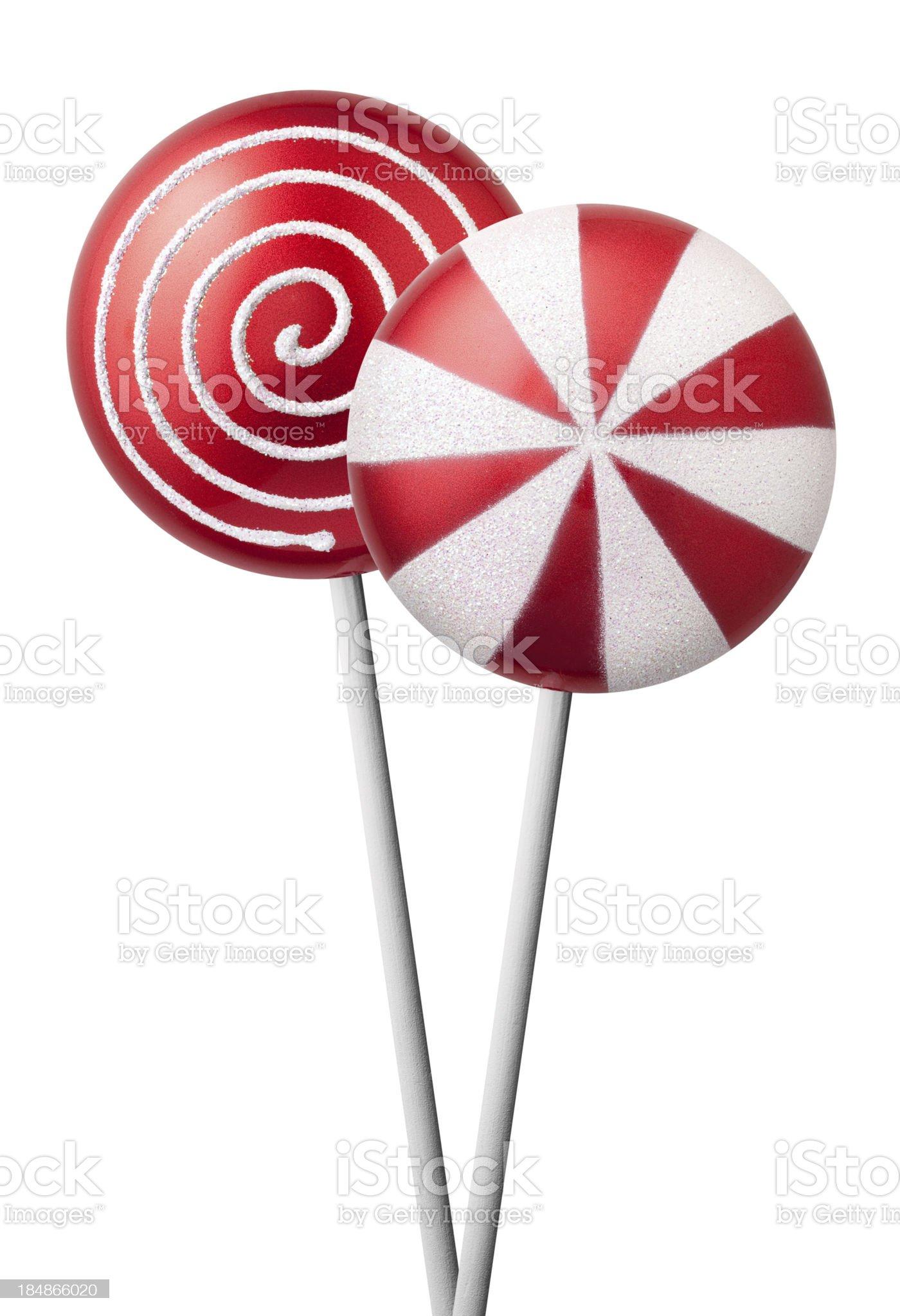 Christmas lollipops royalty-free stock photo