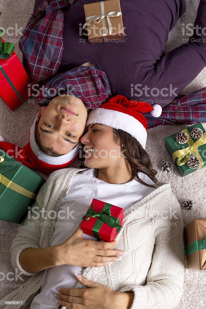 Christmas love royalty-free stock photo