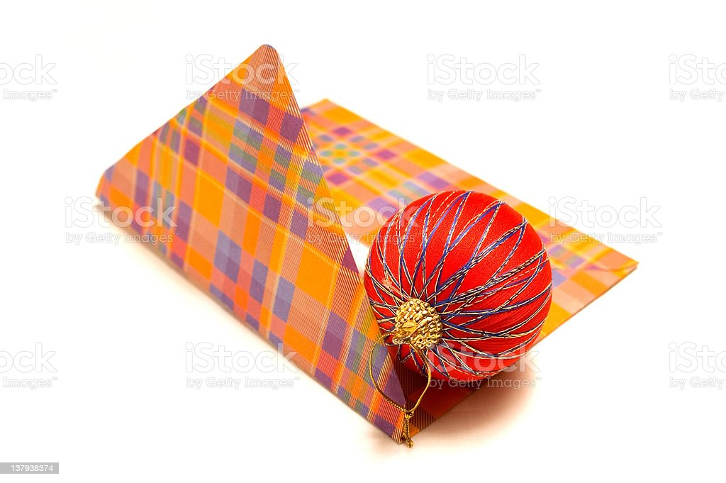 Christmas mail royalty-free stock photo