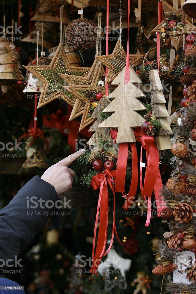 Christmas Market 2 stock photo