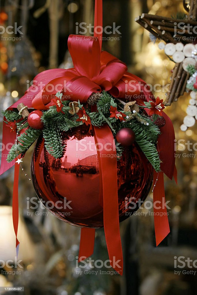 Christmas Market Bauble royalty-free stock photo