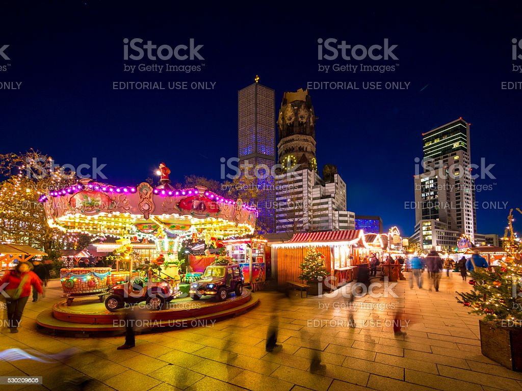 Christmas Market in Berlin, Germany stock photo