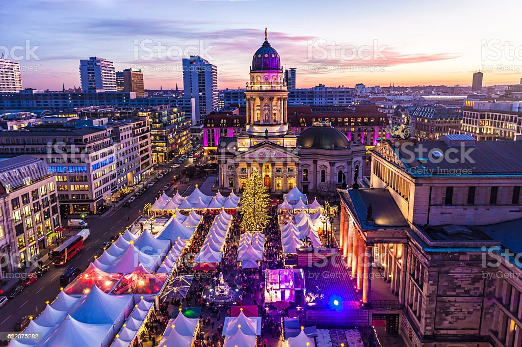Christmas Market in Berlin stock photo