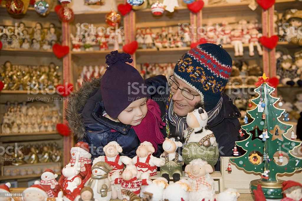 Christmas Market in South Tyrol royalty-free stock photo