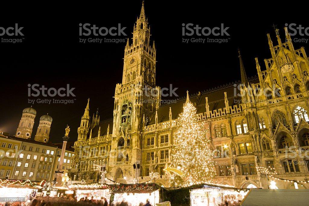 Christmas Market Munich royalty-free stock photo