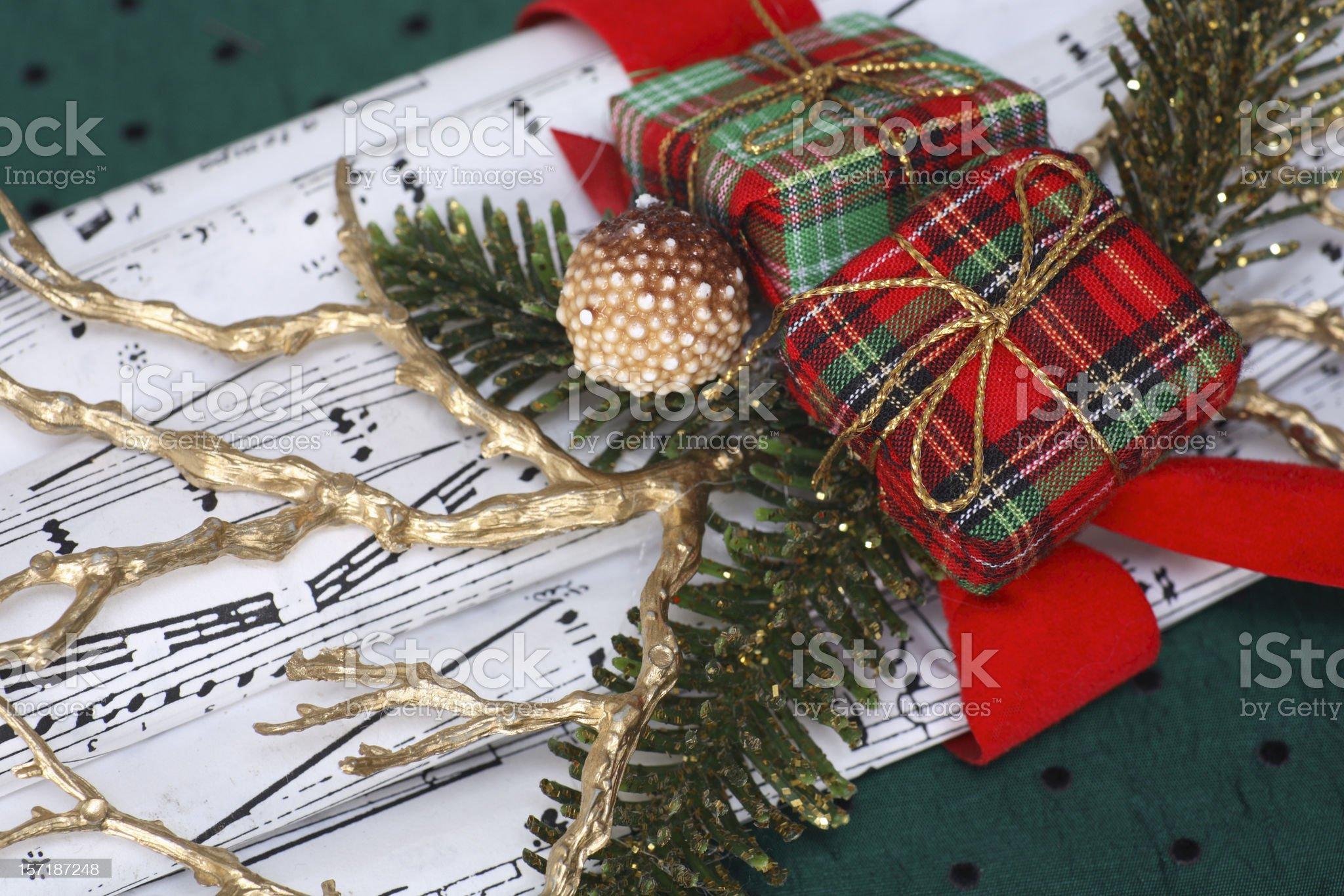 Christmas music royalty-free stock photo