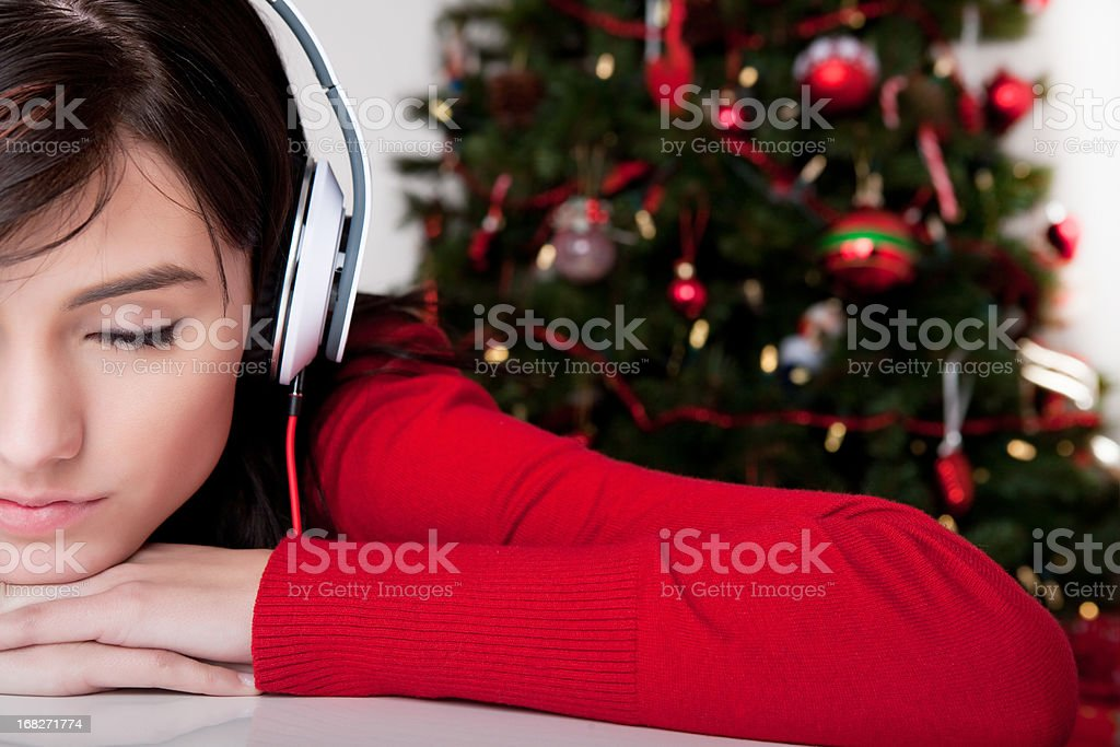 Christmas Music royalty-free stock photo