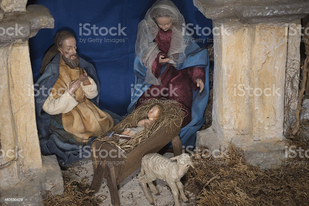 Christmas nativity royalty-free stock photo