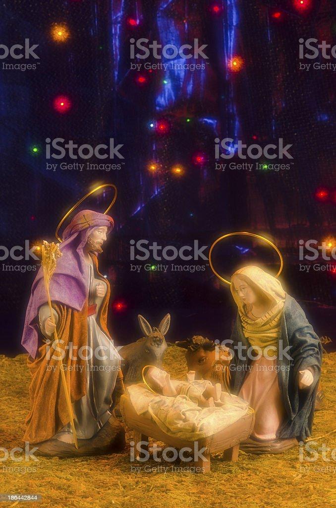 Christmas Nativy Scene royalty-free stock photo
