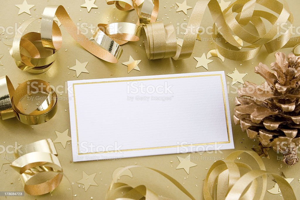 Christmas note royalty-free stock photo
