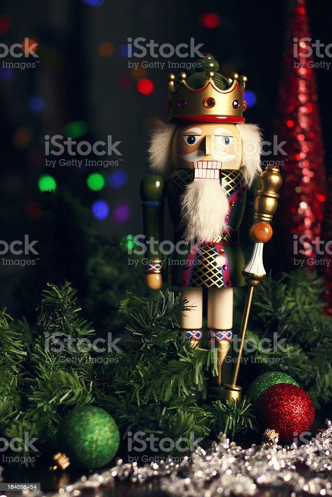 Christmas Nutcracker royalty-free stock photo