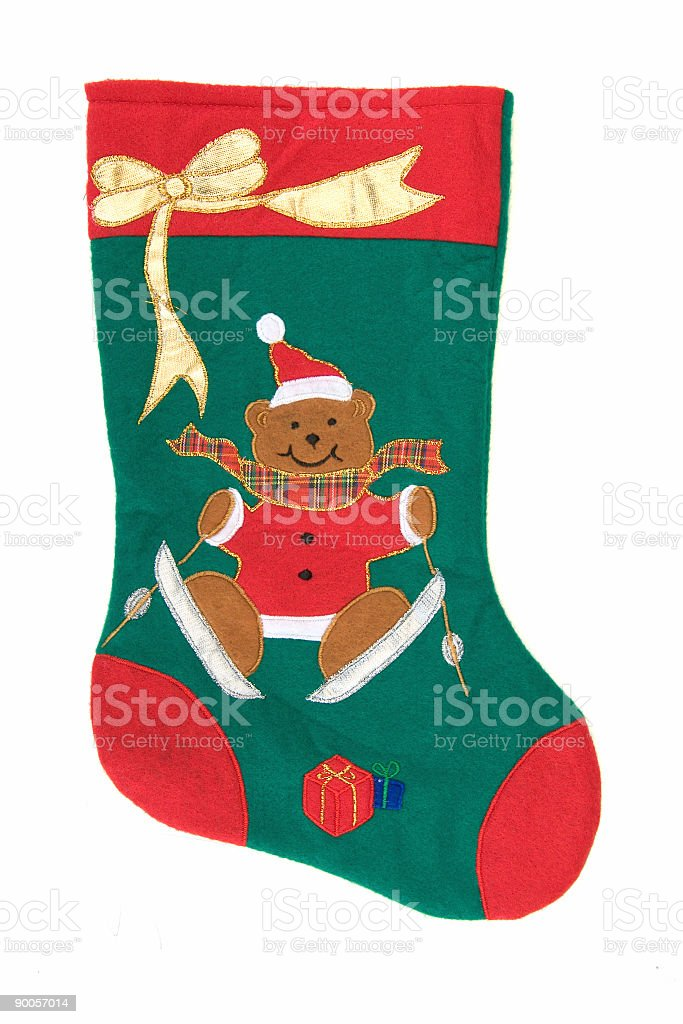 Christmas Objects 01 (clipping path) royalty-free stock photo