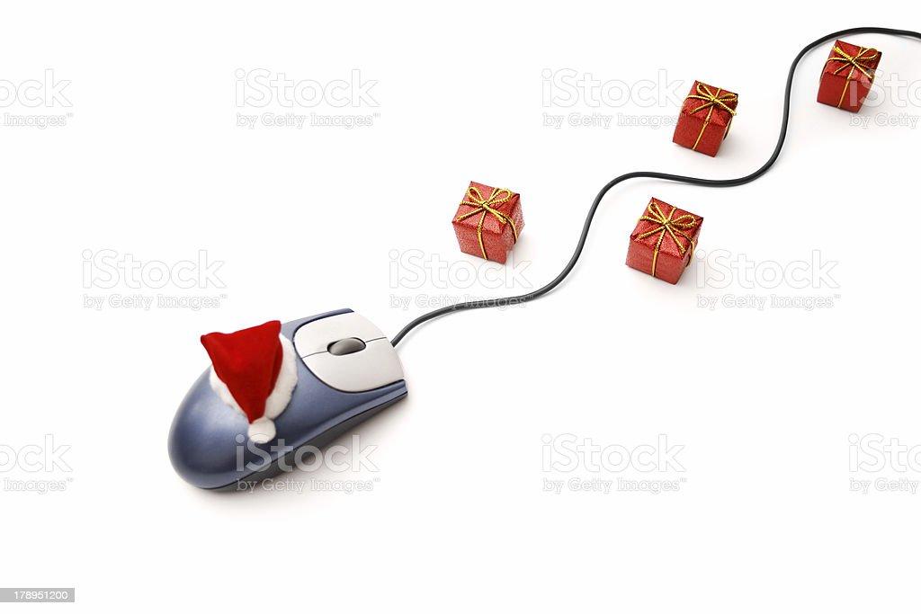 Christmas on-line royalty-free stock photo
