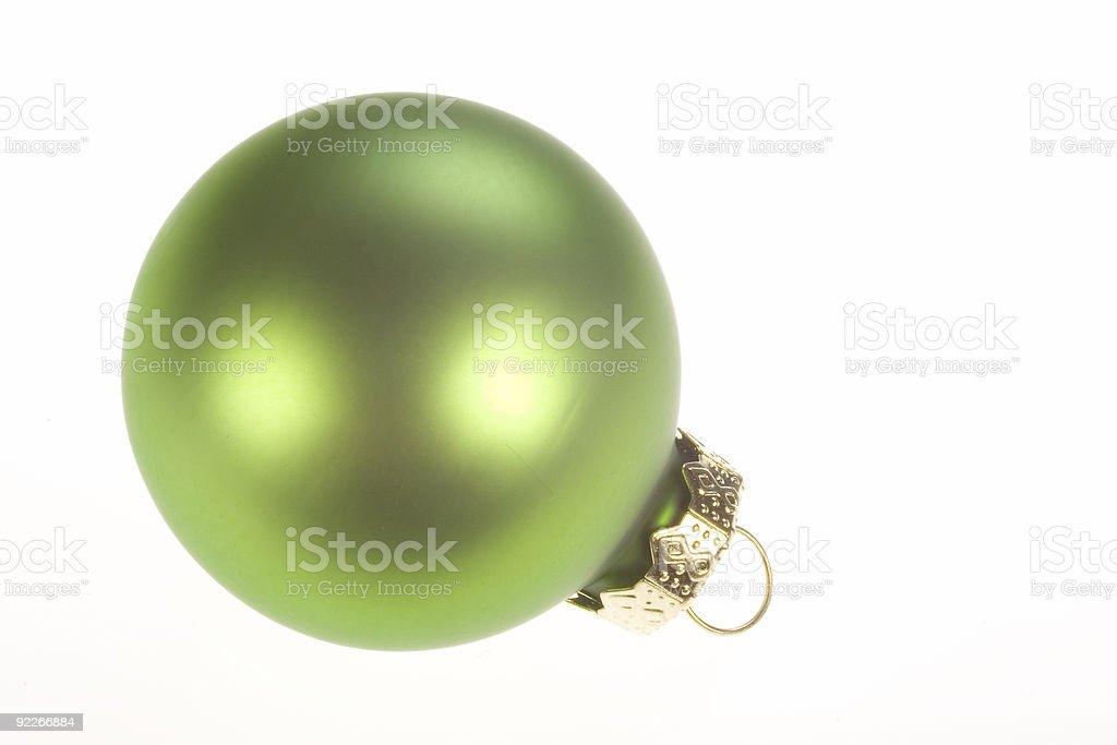 Christmas Ornament 3 royalty-free stock photo