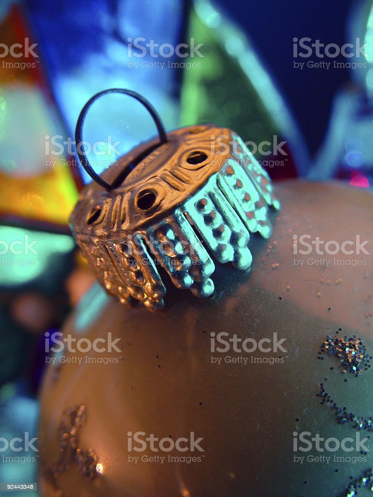 Christmas Ornament, Close-Up royalty-free stock photo