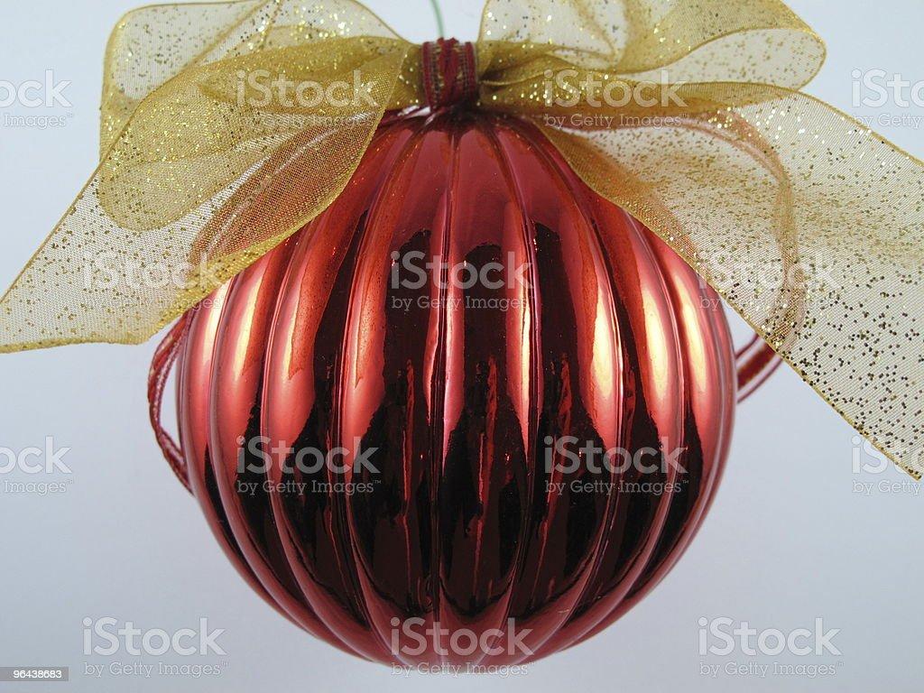 Palla dell'albero di Natale foto stock royalty-free