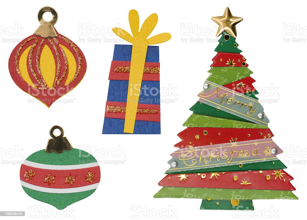 Christmas Ornaments 2 royalty-free stock photo