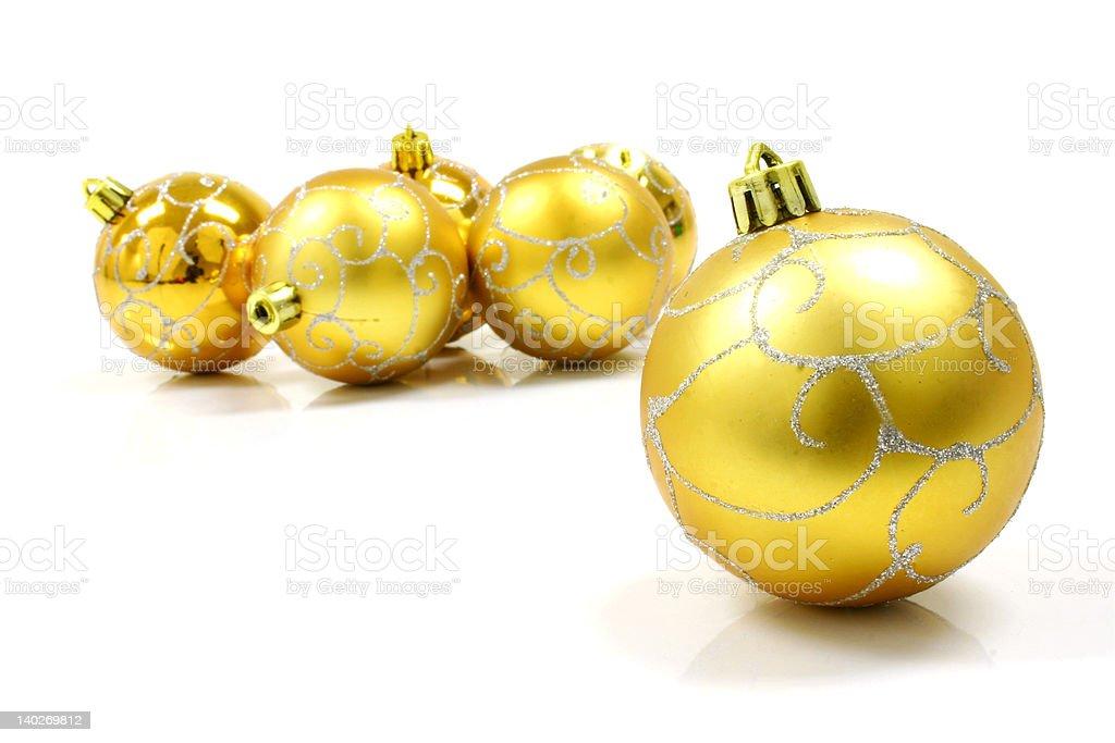 Weihnachten Dekoration Ball Lizenzfreies stock-foto