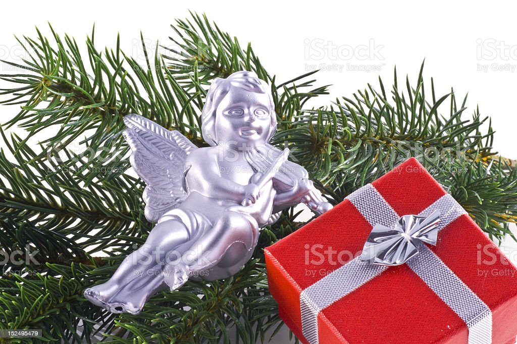 Christmas ornaments. stock photo