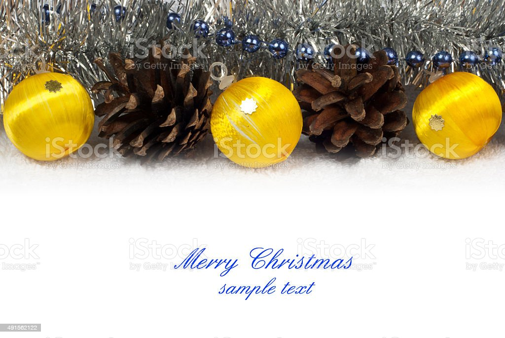 Navidad ornamentos foto de stock libre de derechos