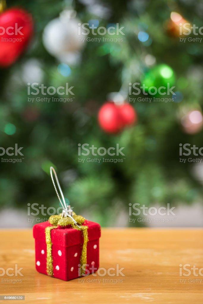 Christmas ornaments stock photo