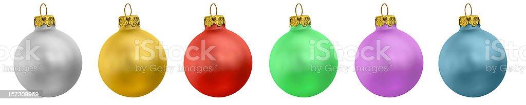 Christmas ornaments XXLarge stock photo