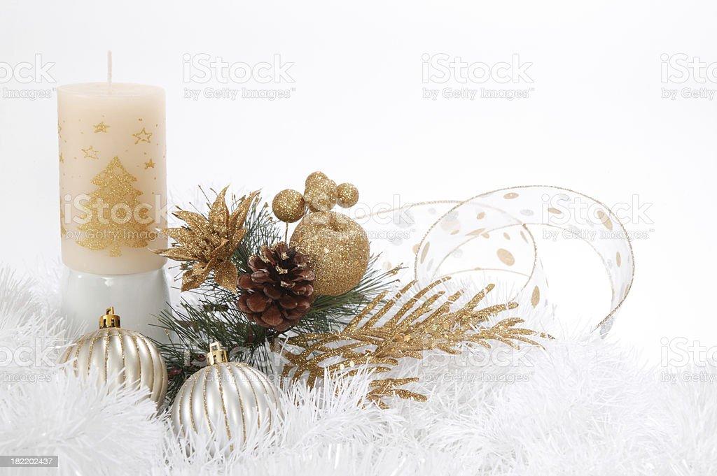 christmas ornements stock photo