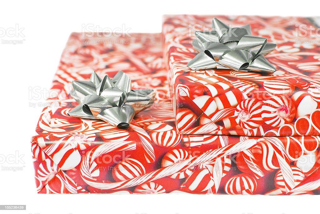 Pacotes de Natal foto royalty-free